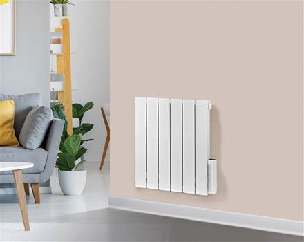 Rads 2 Rails Holborn Electric Horizontal Aluminium Radiator