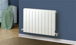 Warm Rooms Greenrad Horizontal Aluminium Radiator 407mm
