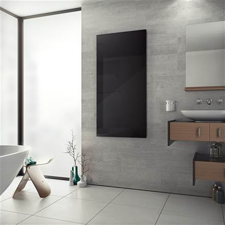 Eucotherm White & Black Glass Infrared Radiator