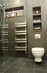 Aestus Ingot Stainless Steel Heated Towel Rail