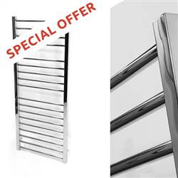 Inspiro Straight Stainless Steel Heated Towel Rail