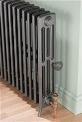 MHS Ionic 4 column cast iron radiator - 475mm height