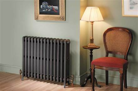 MHS Ionic 6 column cast iron radiator - 660mm height