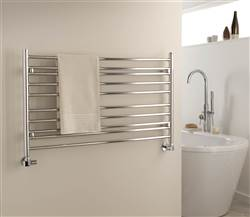 The Radiator Company Iris Electric Stainless Steel Heated Towel Rail