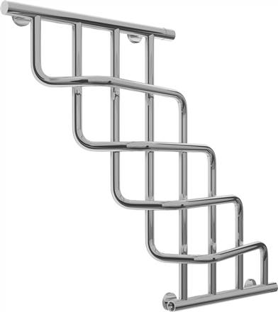 Sunerzha Cascade Stainless Steel Towel Rail
