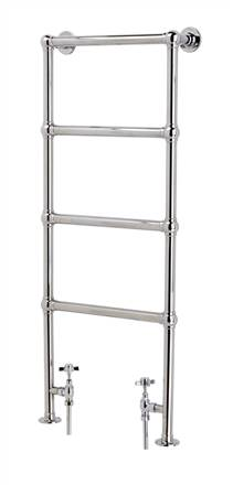 Vogue LG Ballerina BJ Floor Mounted Heated Towel Rail