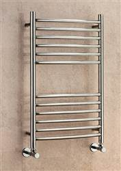 Supplies 4 Heat Lanark Curved Stainless Steel Towel Rail