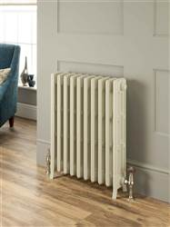 The Radiator Company Mini Ledbury 4 Column Cast Iron Radiator Lacquered