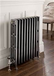 The Radiator Company Mini Ledbury 6 Column Cast Iron Radiators Polished