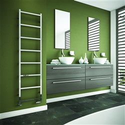 DQ Double Quick Liana Stainless Steel Electric Towel Rail