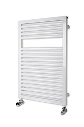 Myson Lindi white heated towel rail