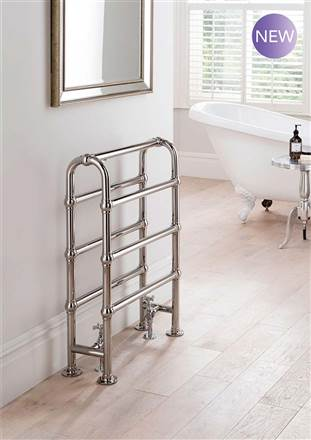 The Radiator Company Lingfield Floor Standing Towel Rail