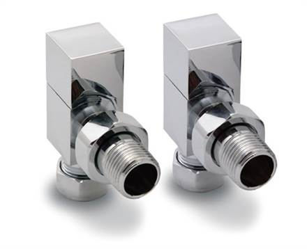 Reina Loge Square Manual Radiator valves