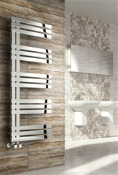 Reina Lovere Stainless Steel Designer Heated Towel Rail