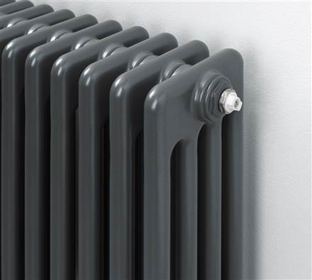 MHS Multisec 3 column Radiator - 600mm Height - Anthracite
