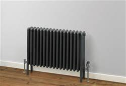 Rads 2 Rails Fitzrovia Anthracite Horizontal Column Radiator