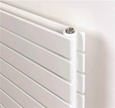 Rads 2 Rails New Primrose Flat Panel Horizontal Radiator