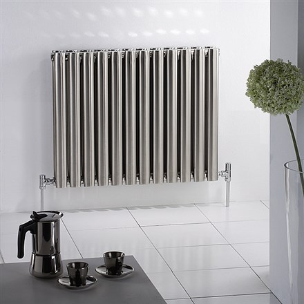 Mhs Arc Stainless Steel Horizontal Designer Radiator