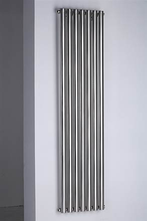 MHS Arc Stainless Steel Vertical Designer Radiator