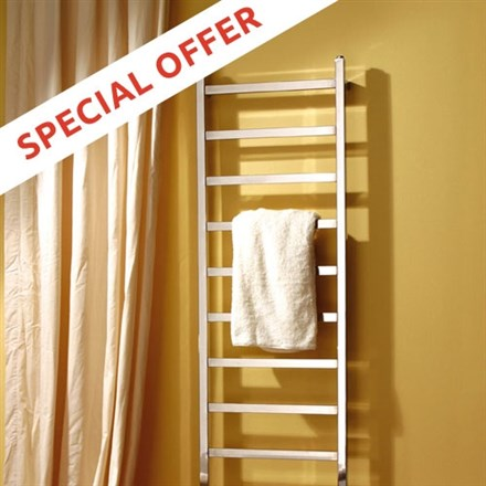 MHS Climber designer heated bathroom towel rail