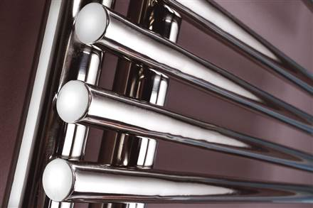 MHS Comb Electric Stainless Steel Heated Towel Rail