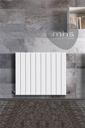 MHS Decoral 97 Horizontal Aluminium Radiator 557mm High