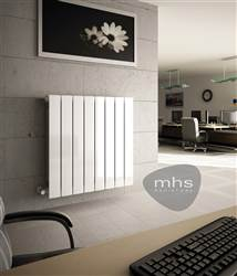 MHS Decoral 97 Horizontal Aluminium Radiator 428mm High