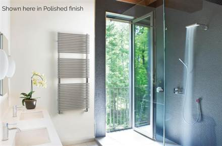 MHS Louisa Stainless Steel Heated Towel Rail