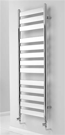 MHS Neos Straight Chrome Electric Towel Rail