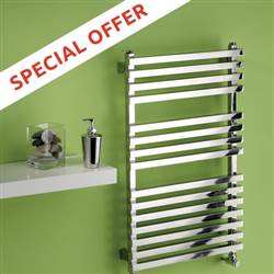 MHS Square Stainless Steel Electric Towel Rail