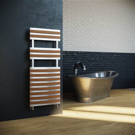 DQ Double Quick Mahana Stainless Steel Heated Towel Rail