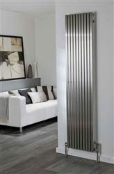 The Radiator Company Mara Vertical Stainless Steel Radiator