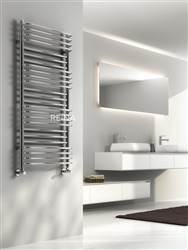 Reina Marco Designer Chrome Heated Towel Rail