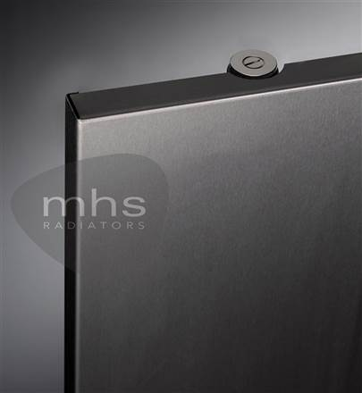 MHS Niva Stainless Flat Panel Vertical Radiator