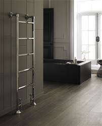 Vogue Art Moderne Floor Mounted Heated Towel Rail OG011