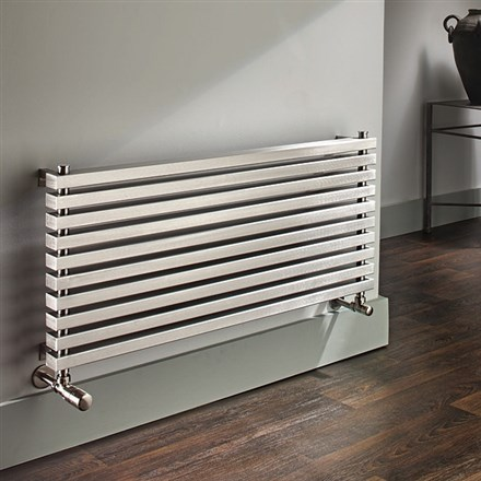 The Radiator Company Omega Horizontal Stainless Steel  Radiator