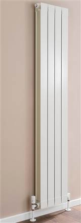 Warmrooms Flat Top Aluminium Radiator - 1646mm Height