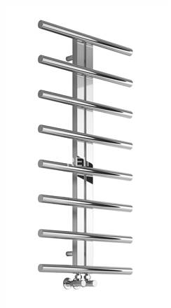 Reina Pizzo Stainless Steel Designer Heated Towel Rail