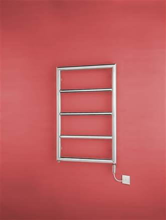 Bisque Pera Stainless Steel Electric Heated Towel Rail