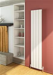 Warmrooms Curva Vertical Aluminium Radiator