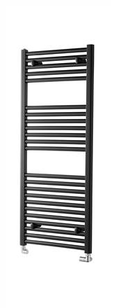 Towelrads Pisa Black Straight Towel Rail