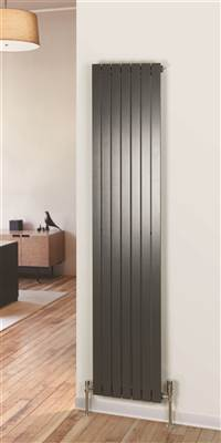 Warm Rooms Slieve Flat Panel Vertical Radiator