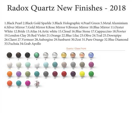 Radox Quartz Exclusive Glass Designer Radiator