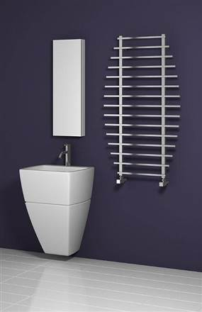 Reina Enna Stainless Steel Heated Towel Rail