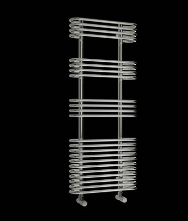 Reina Mirus Chrome Heated Towel Rail