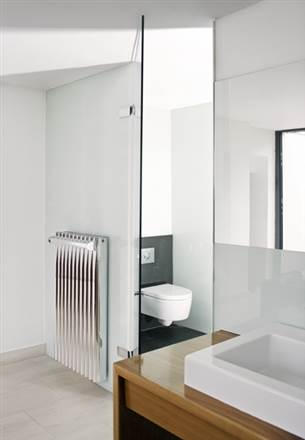 Eskimo Ron and Leggy Ron Matt Aluminium Radiator 600mm High