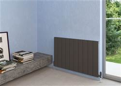 Warmrooms Piazza Horizontal Aluminium Radiator