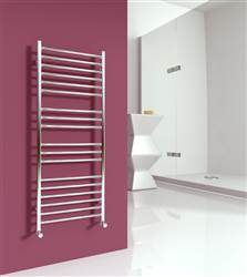SBH SS100 Maxi Flat 520 Straight Stainless Steel Heated Towel Rail