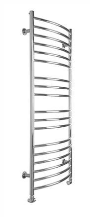 SBH SS102 Maxi Curve Stainless Steel Heated Towel Rail
