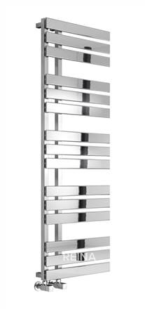 Reina Sesia Designer Chrome Heated Towel Rail
